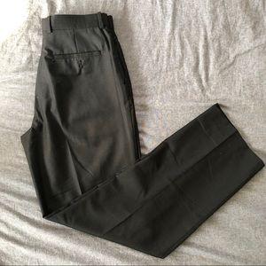 Perry Ellis Men's Black Dress Pants